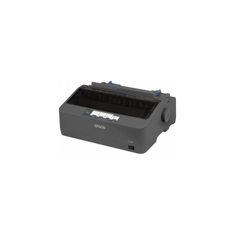Tlačiareň ihličková Epson LX-350 (C11CC24031) čierna + Doprava zadarmo