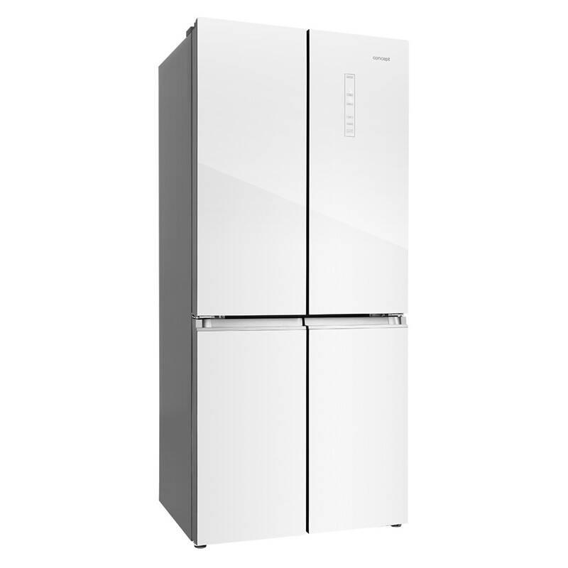 Americká chladnička Concept LA8783wh biela + Doprava zadarmo