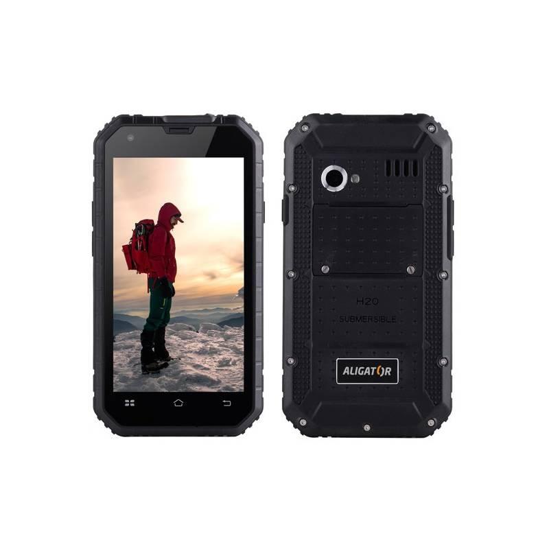 Mobilný telefón Aligator RX460 eXtremo 16 GB Dual SIM (ARX460BB) čierny Software F-Secure SAFE, 3 zařízení / 6 měsíců (zdarma)