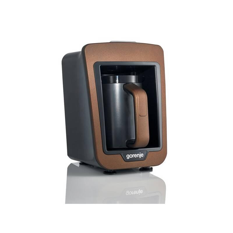 Kávovar pre tureckú kávu Gorenje ATCM730T hnedý
