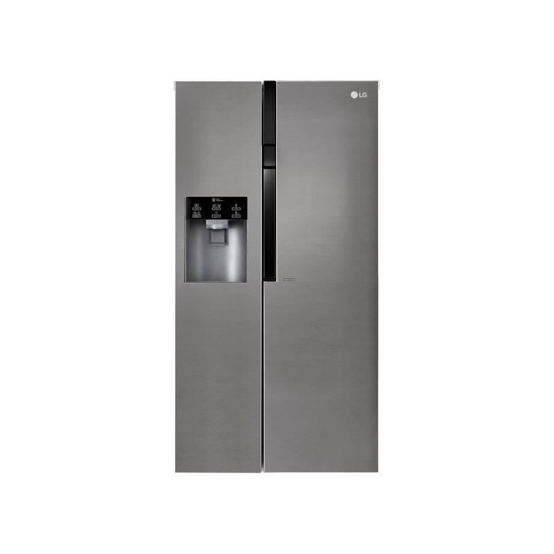 Americká lednice LG GSL360ICEV nerez + LG 10 let záruka na Lineární kompresor