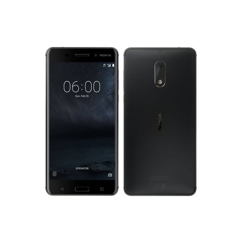 Mobilný telefón Nokia 6 Single SIM (11PLEB01A13) čierny + Doprava zadarmo