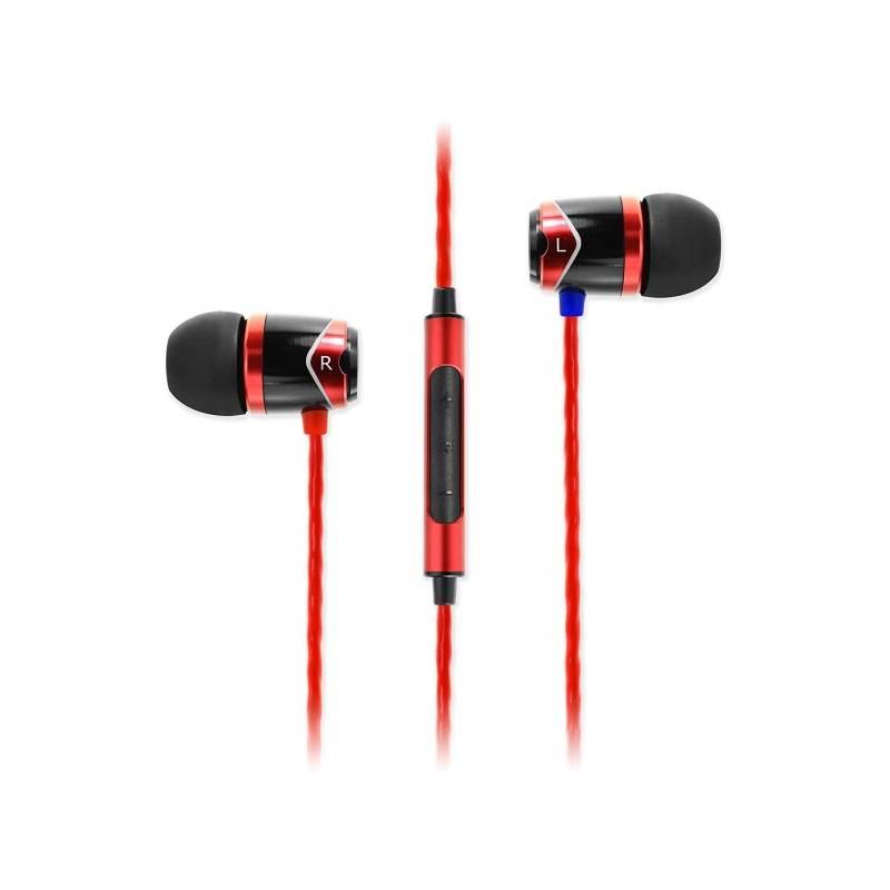 Slúchadlá SoundMAGIC E10C (SM E10C red) červená