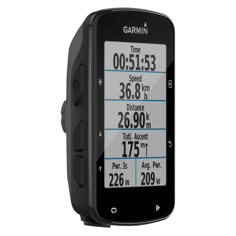 Cyklopočítač s GPS Garmin EDGE 520 Plus čierna