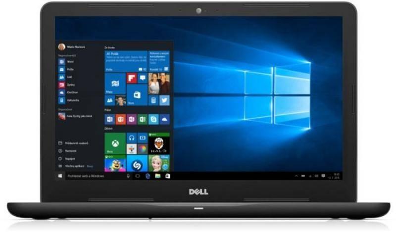 Notebook Dell Inspiron 15 5000 (5567) (N-5567-N2-711K) čierny + Doprava zadarmo