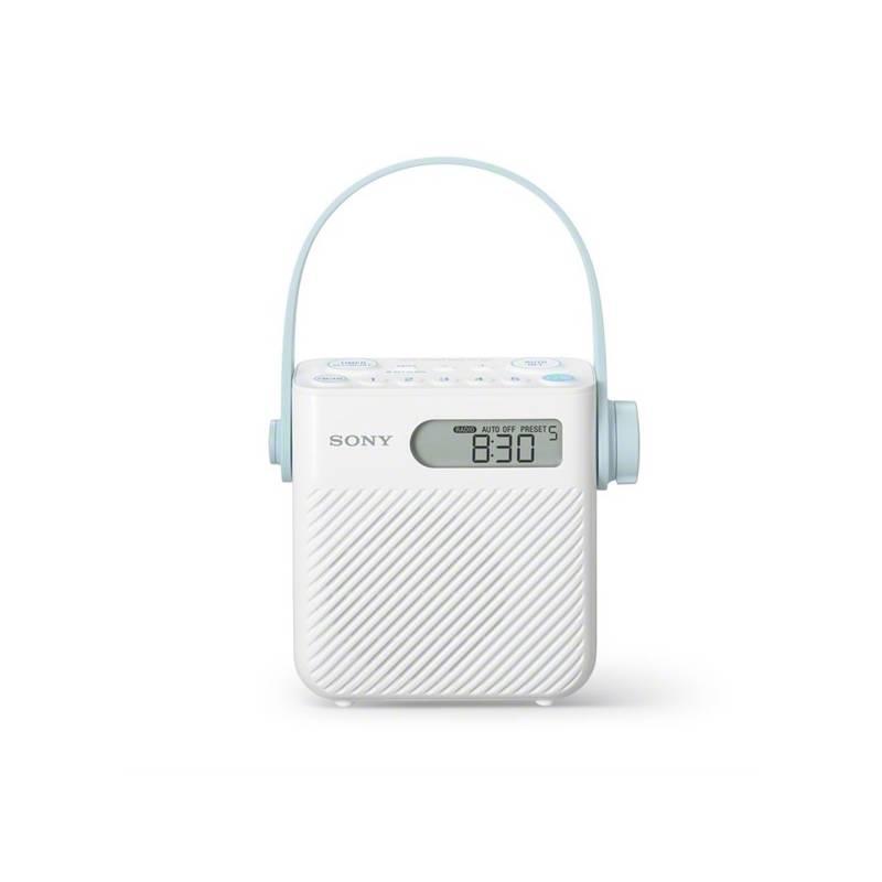 Rádioprijímač Sony ICF-S80 biely + Doprava zadarmo