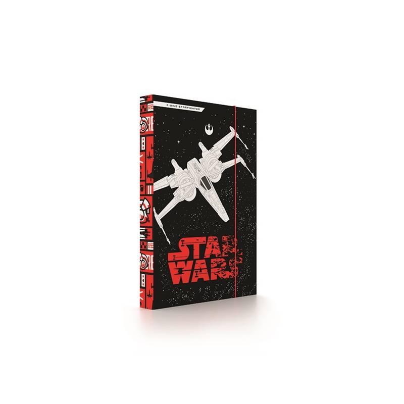 Dosky na zošity P + P Karton Star Wars Episode VIII A4