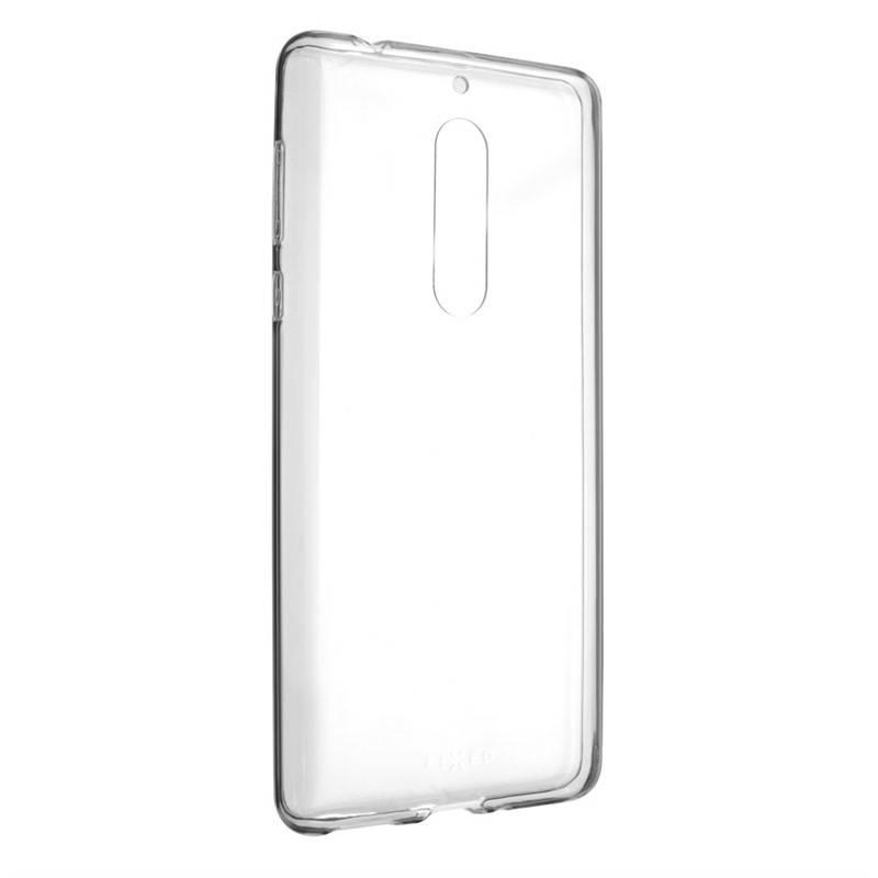Kryt na mobil FIXED Skin pro Nokia 5 priehľadný