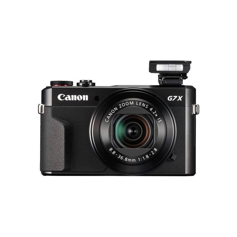 Digitálny fotoaparát Canon PowerShot G7X Mark II (1066C002) čierny
