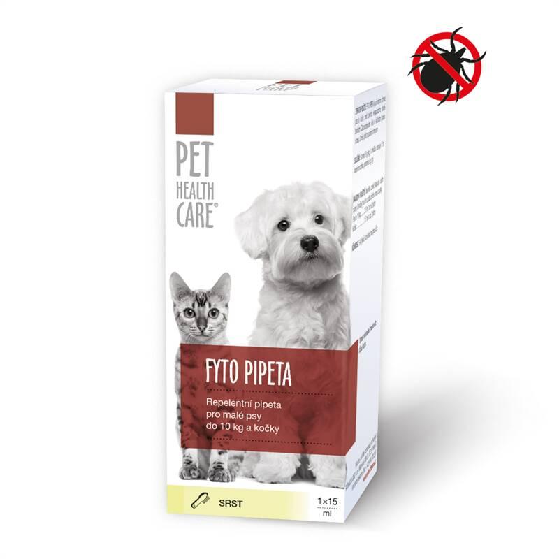 Pipeta Pet Health Care FYTO pre psov a mačky do 10kg 1x15ml