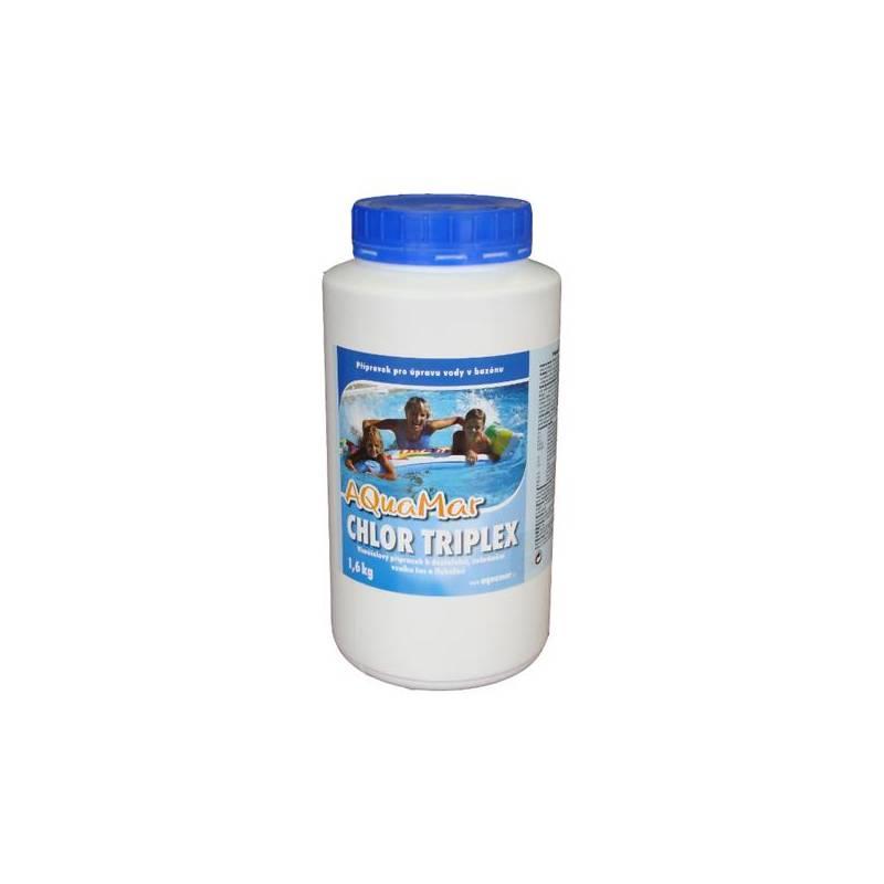 Bazénová chémia Marimex AQuaMar Chlor Triplex 1,6 kg + Doprava zadarmo