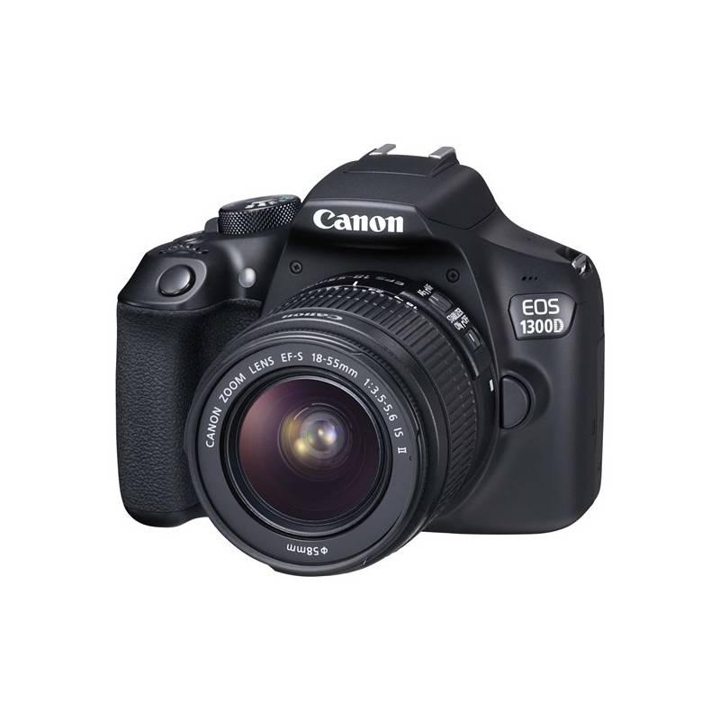 Digitálny fotoaparát Canon EOS 1300D + 18-55 IS II (1160C025) čierny + Doprava zadarmo