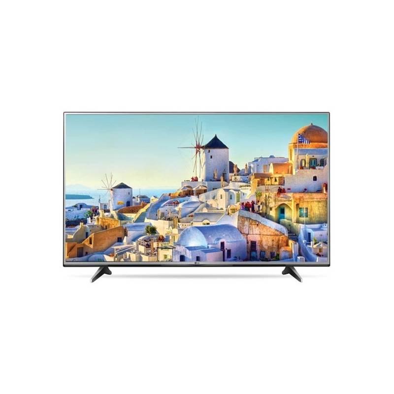 Televízor LG 55UH605V strieborná + Doprava zadarmo
