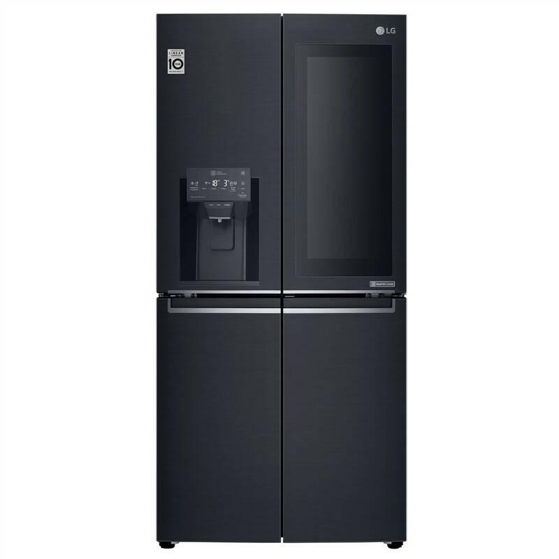 Americká lednice LG GMX844MCKV + LG 10 let záruka na Lineární kompresor