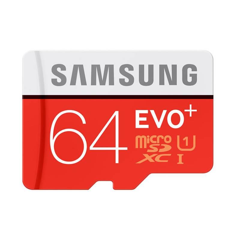 Pamäťová karta Samsung Micro SDXC EVO+ 64GB UHS-I U1 (80R/20W) + adapter (MB-MC64DA/EU)