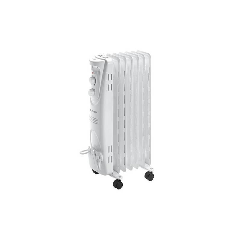 Olejový radiátor Concept RO3207 biely