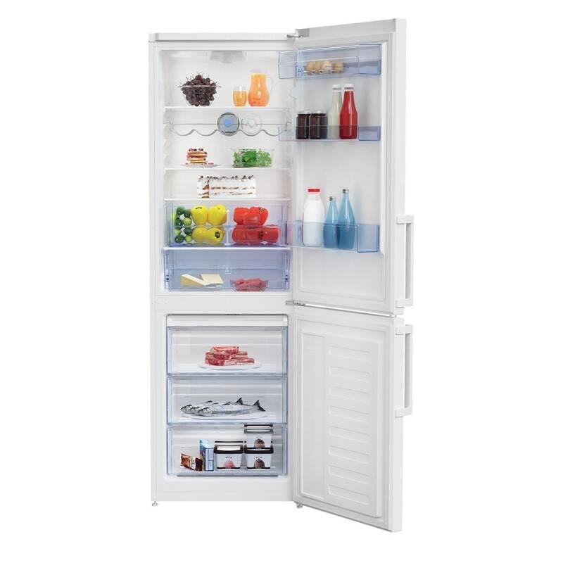 Kombinácia chladničky s mrazničkou Beko RCSA330K31W biela + Doprava zadarmo