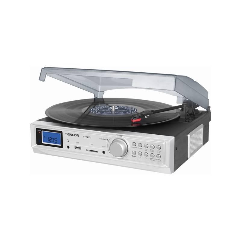 Gramofón Sencor STT 210U biely