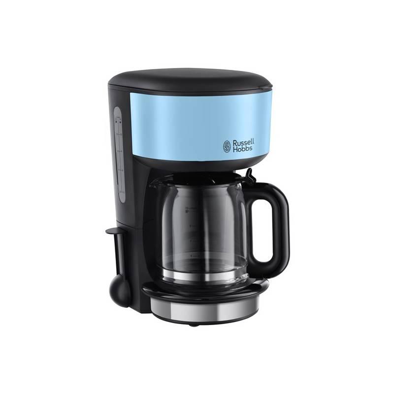 Kávovar RUSSELL HOBBS COLOURS PLUS 20136-56 modrý/nerez