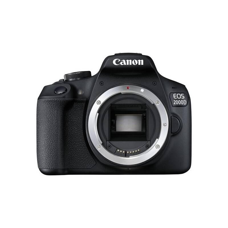 Digitálny fotoaparát Canon EOS 2000D tělo (2728C001) čierny + Doprava zadarmo