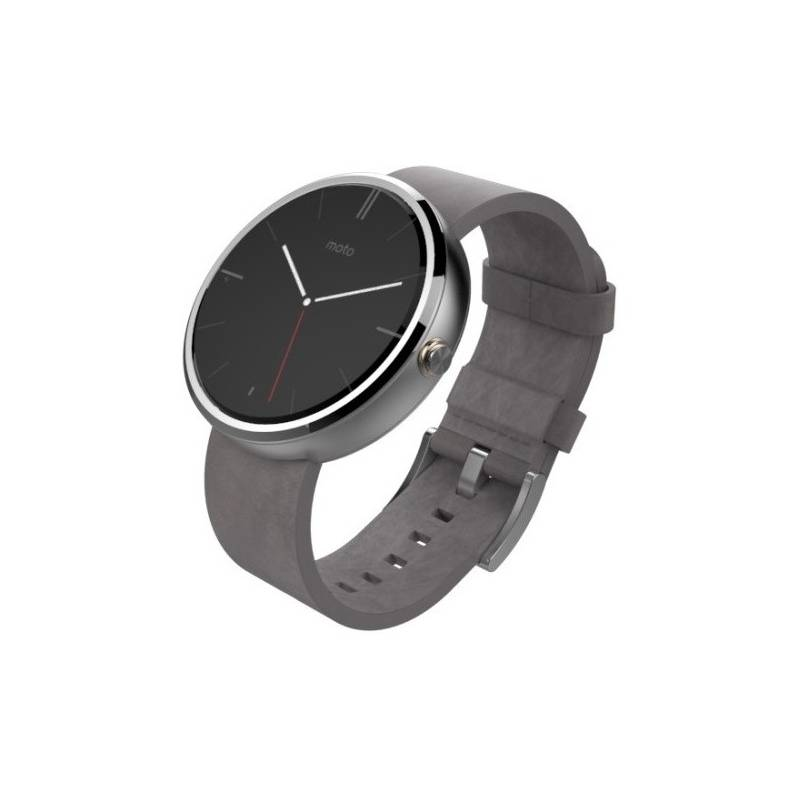 f144cb41c93 Chytré hodinky Motorola Moto 360 Watch (8592118802697) šedé (Náhradní obal    Silně deformovaný obal 5800078901)