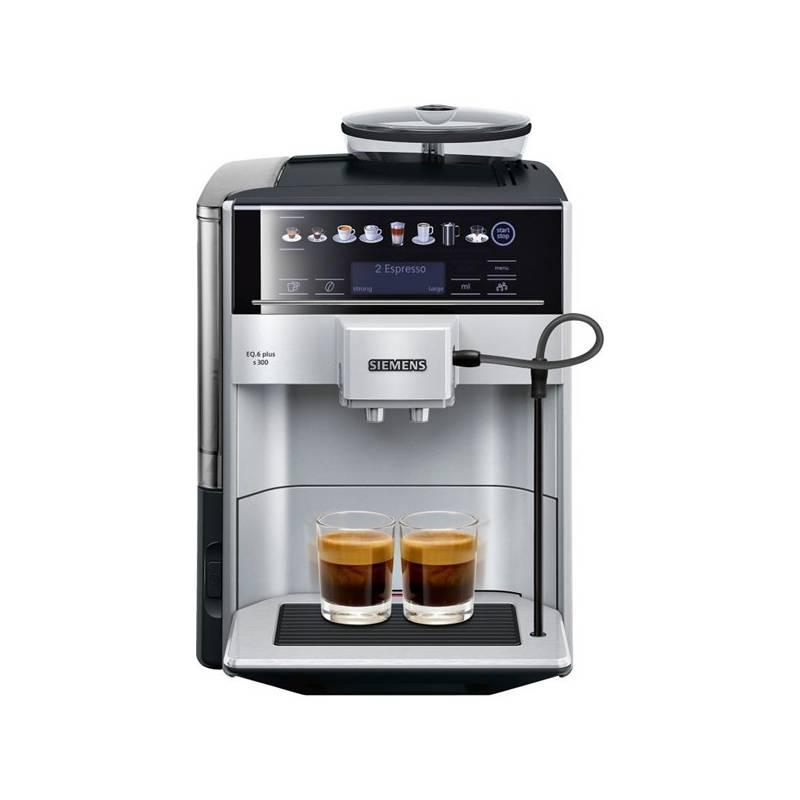 Espresso Siemens EQ.6 TE653311RW strieborné