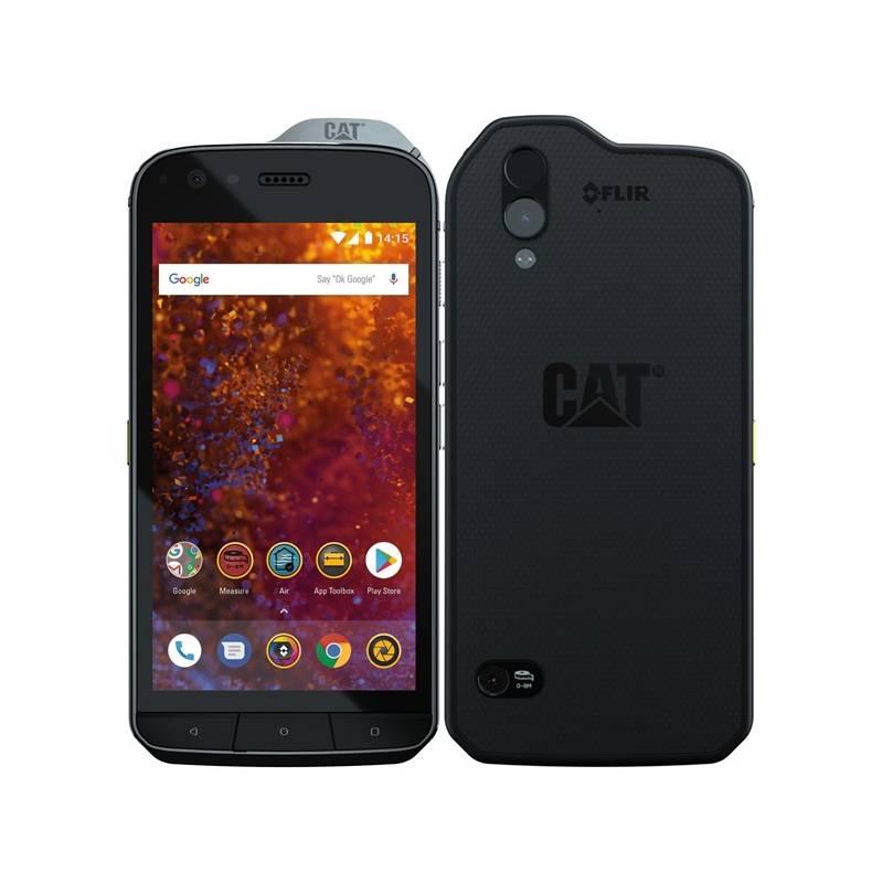 Mobilní telefon Caterpillar S61 Dual SIM (CS61-DAB-ROW-EN) černý
