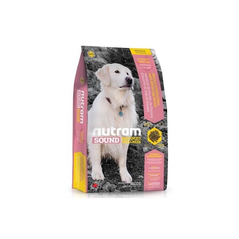 Granule NUTRAM Sound Senior Dog 13,6 kg Antiparazitní obojek Scalibor Protectorband pro psy - 48 cm
