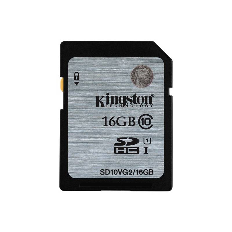Pamäťová karta Kingston SDHC 16GB UHS-I U1 (45R/10W) (SD10VG2/16GB)