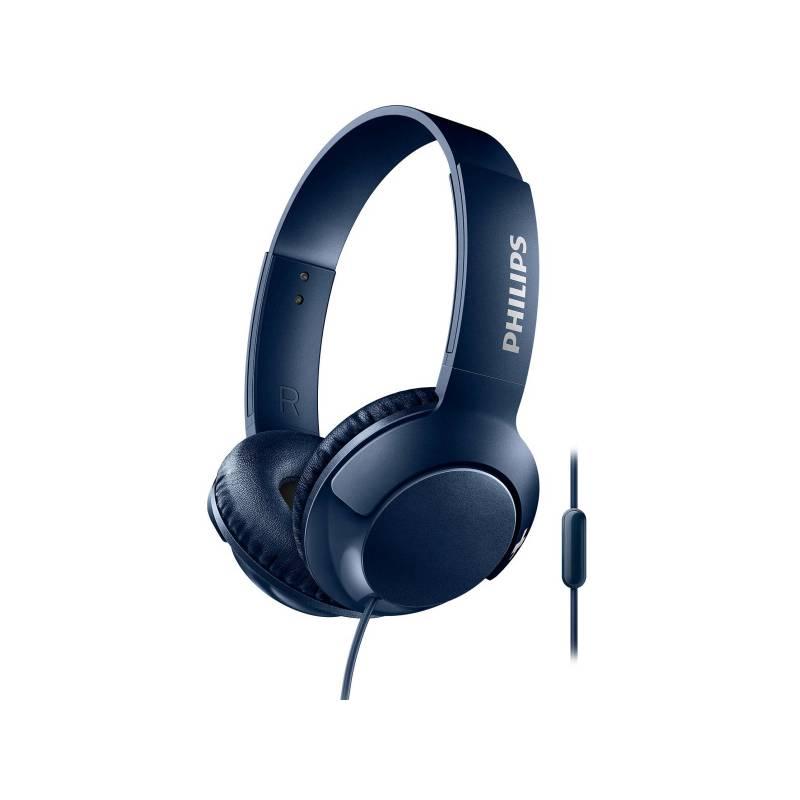 Sluchátka Philips SHL3075BL (SHL3075BL/00) modrá