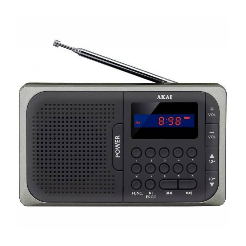 Radiopřijímač AKAI APR-210 černý