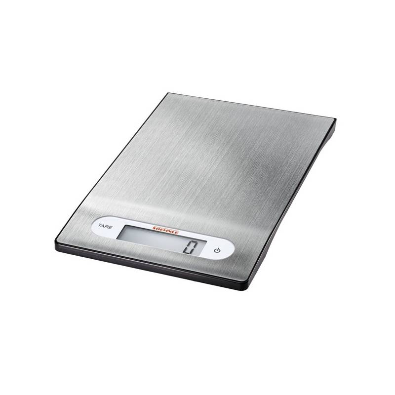 Kuchynská váha Leifheit Shiny Steel strieborná