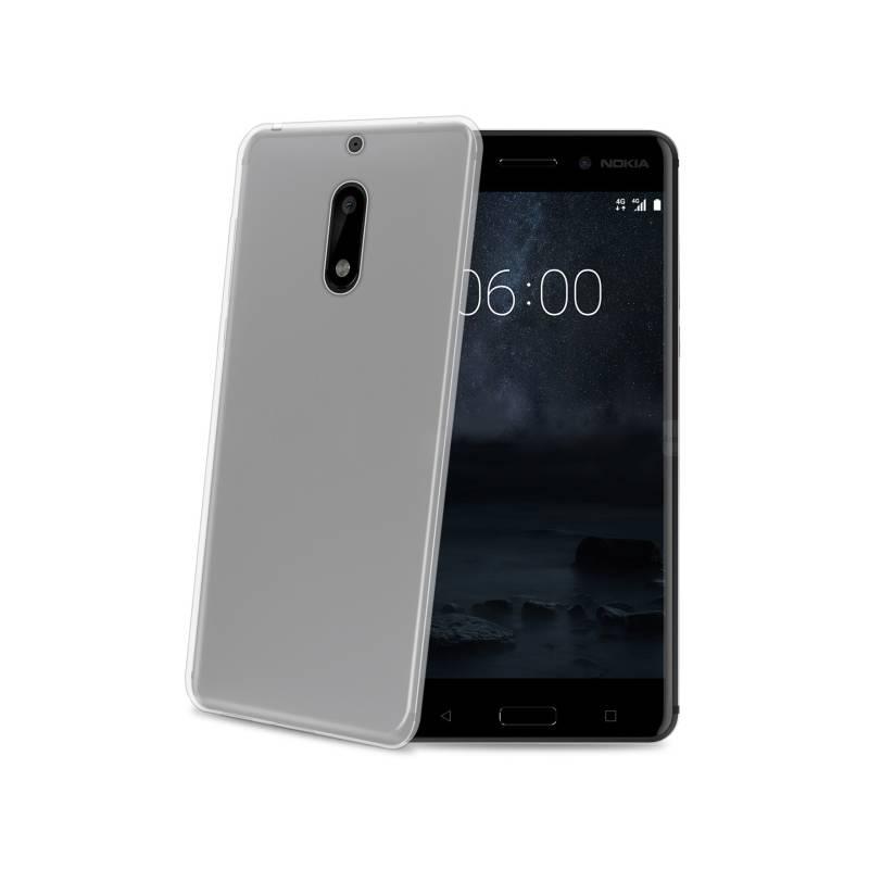 Kryt na mobil Celly Gelskin pro Nokia 6 (GELSKIN662) průhledný