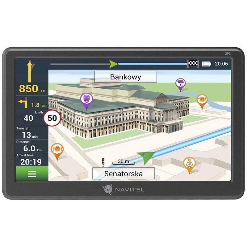 Navigačný systém GPS Navitel E707 Magnetic sivá + Doprava zadarmo