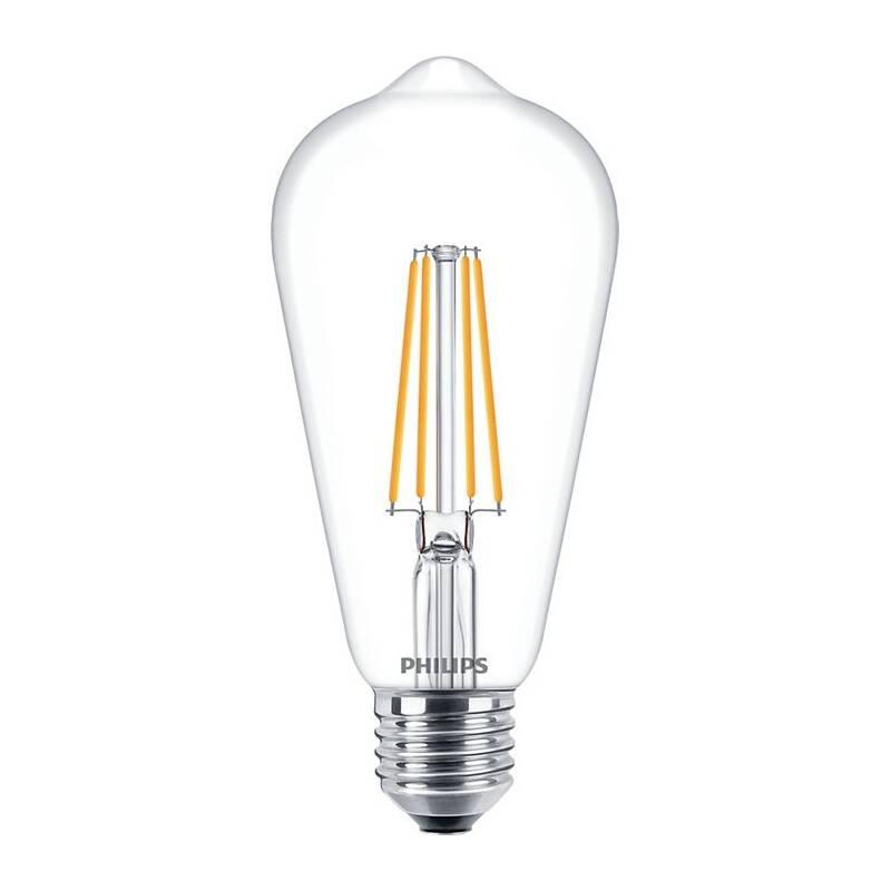 LED žiarovka Philips klasik, 7W, E27, teplá bílá (8718699763053)
