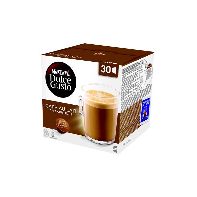 Kapsule pre espressa Nescafé Dolce Gusto Cafe AuLait 30 ks