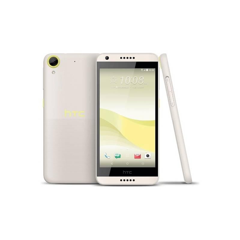 Mobilný telefón HTC Desire 650 Single SIM - lime light žltý + Doprava zadarmo