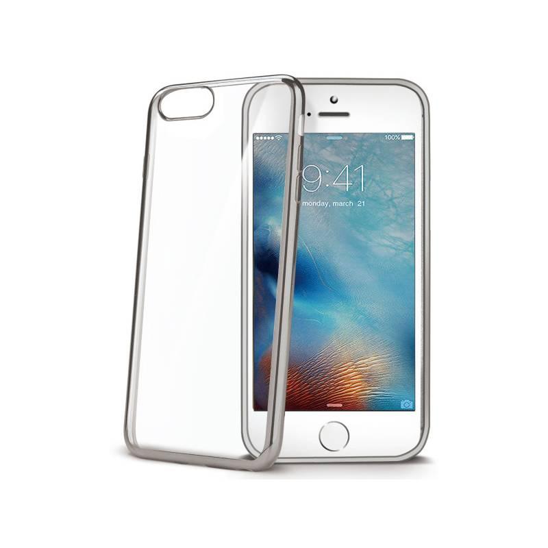 Kryt na mobil Celly Laser pro iPhone 8/7 (LASER800SV) strieborný