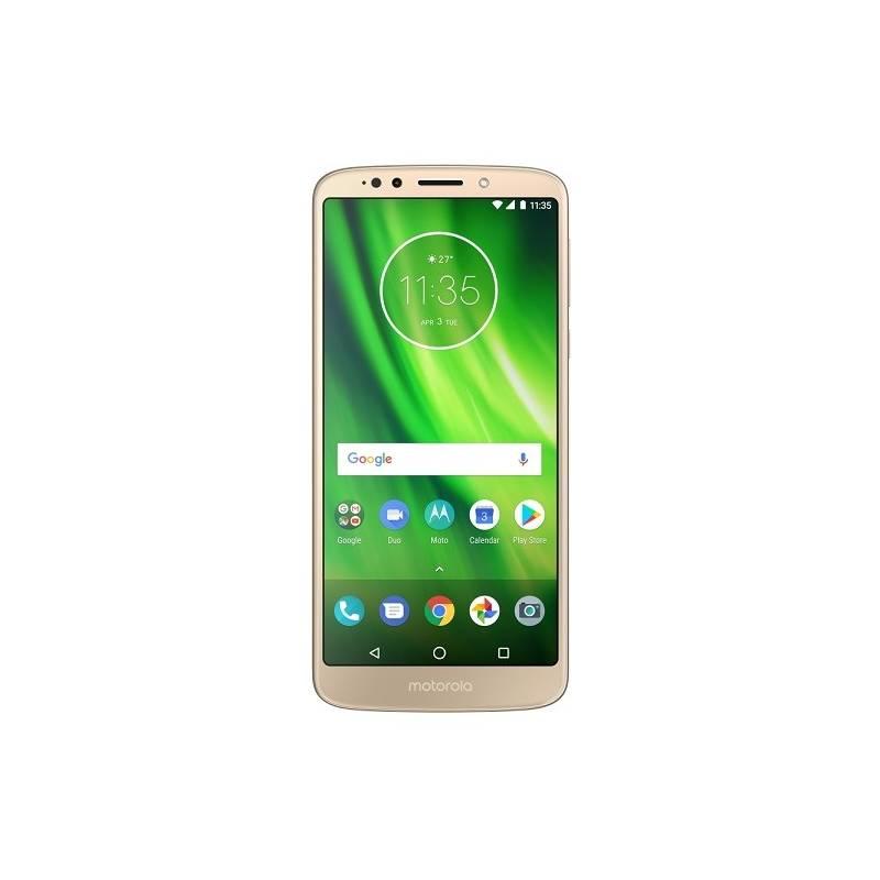 Mobilný telefón Motorola G6 Play (PA9W0031RO) zlatý Software F-Secure SAFE, 3 zařízení / 6 měsíců (zdarma)