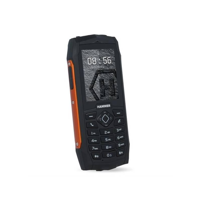 Mobilní telefon myPhone HAMMER 3 Dual SIM (TELMYHHA3OR) oranžový