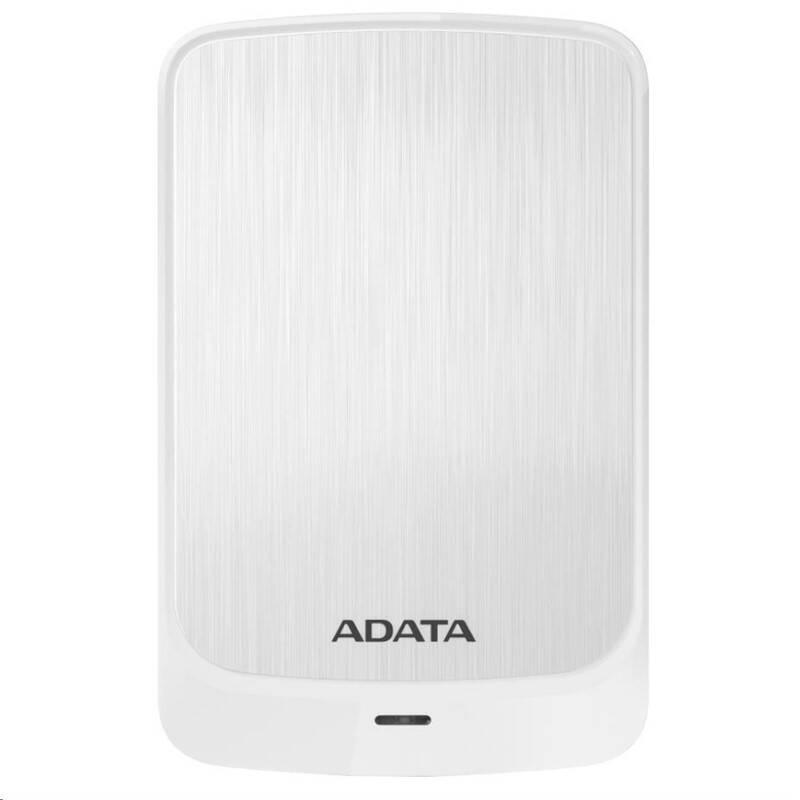 """Externí pevný disk 2,5"""" ADATA HV320 1TB (AHV320-1TU31-CWH) bílý"""