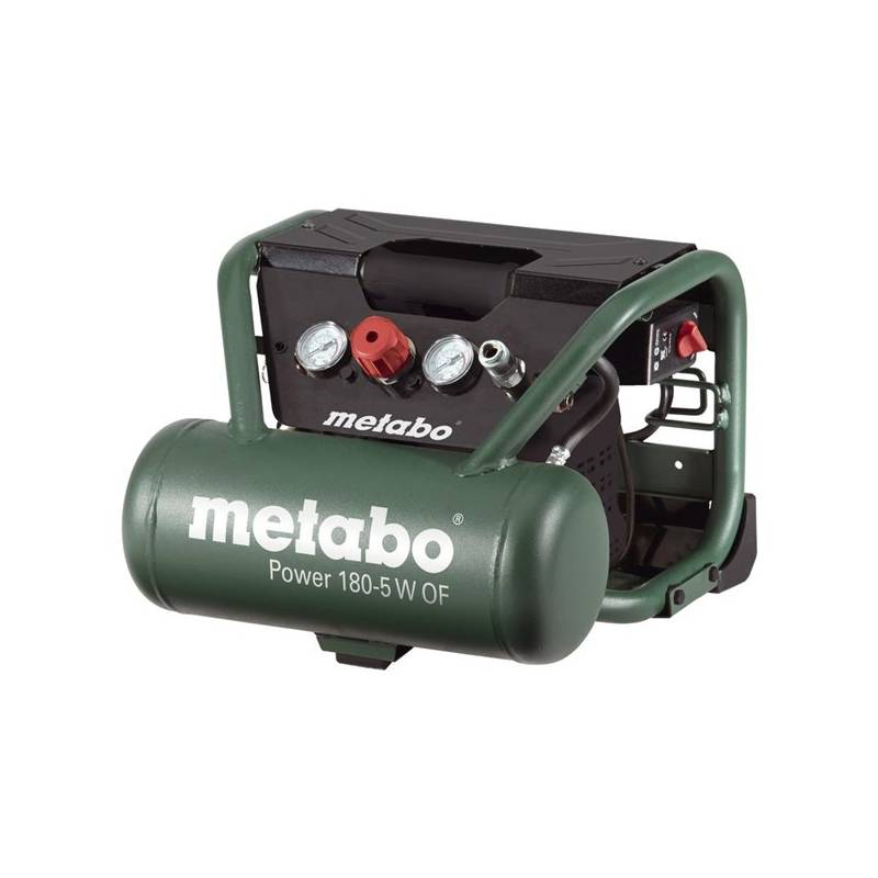 Kompresor Metabo Power 180-5 W OF zelený + Doprava zadarmo