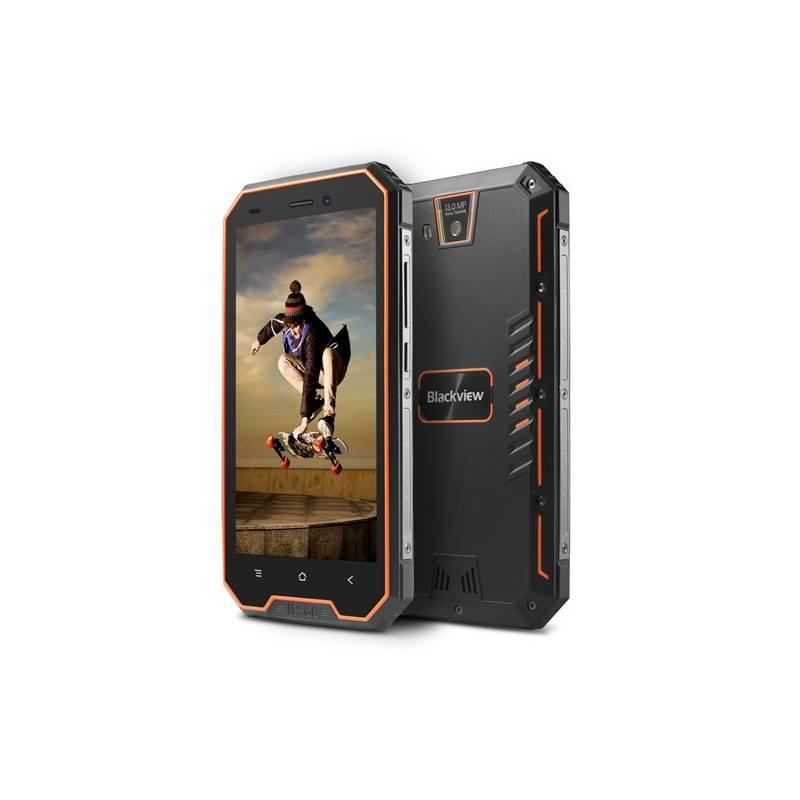 Mobilný telefón iGET BLACKVIEW GBV4000 (84000423 ) oranžový Software F-Secure SAFE, 3 zařízení / 6 měsíců (zdarma)