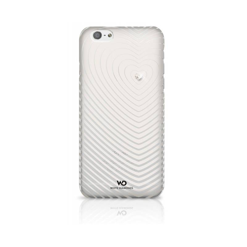Kryt na mobil White Diamonds Heartbeat pro iPhone 6/6s (WD-1310HBT47) biely