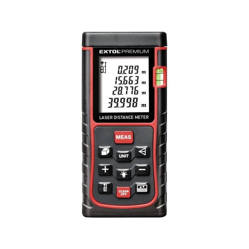 Laserový dálkoměr EXTOL PREMIUM 8820042