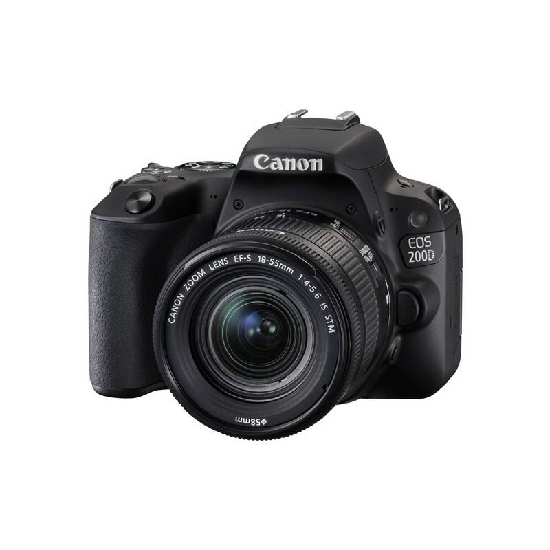 Digitálny fotoaparát Canon EOS 200D + 18-55 IS STM (2250C002) čierny + Doprava zadarmo