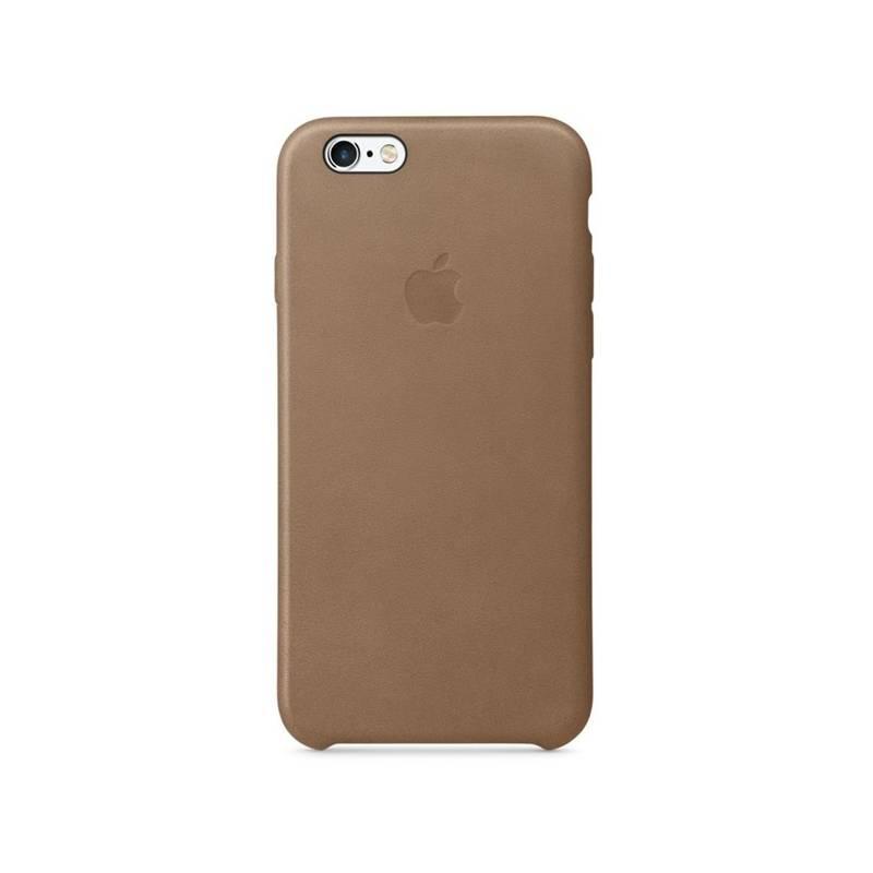 Kryt na mobil Apple Leather Case pro iPhone 6 6s (MKXR2ZM A) hnedý ... 2575f65ba9a