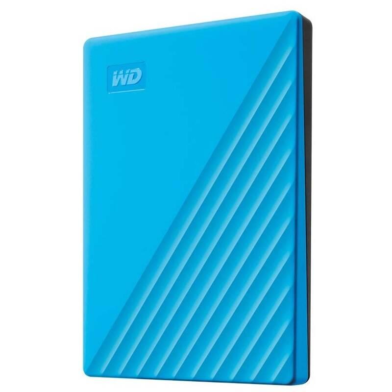 Externý pevný disk Western Digital My Passport Portable 2TB, USB 3.0 (WDBYVG0020BBL-WESN) modrý + Doprava zadarmo