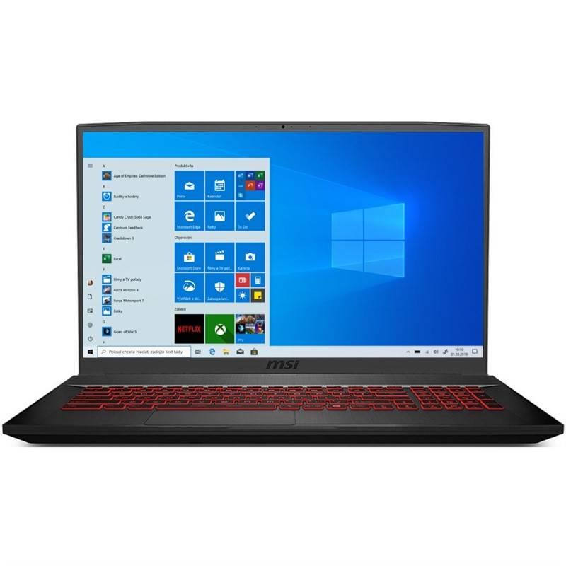 Notebook MSI GF75 Thin 9SC-480CZ (GF75 Thin 9SC-480CZ) čierny