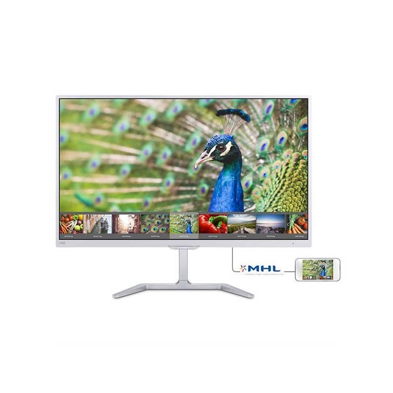 Monitor Philips 246E7QDSW (246E7QDSW/00) biely